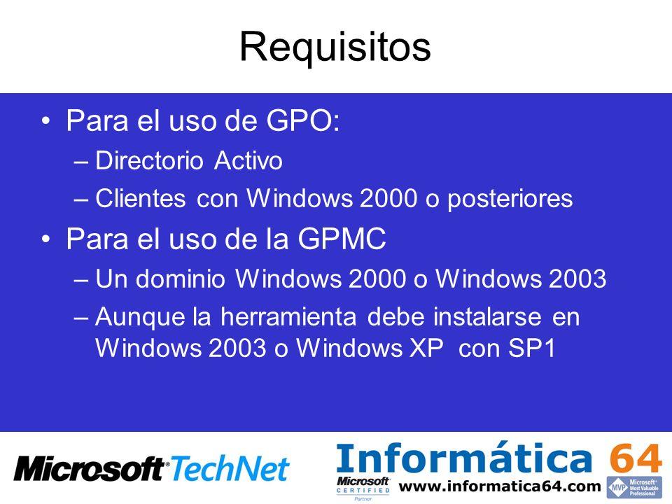 Novedades en Windows 2003 Restauracion del sistema Terminal server.