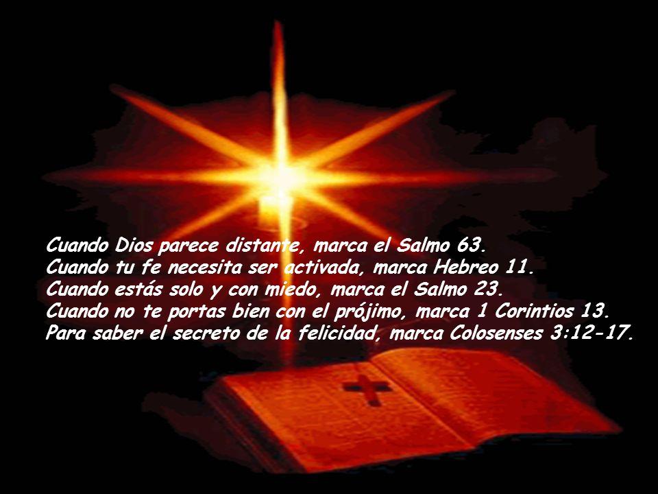 Cuando Dios parece distante, marca el Salmo 63.
