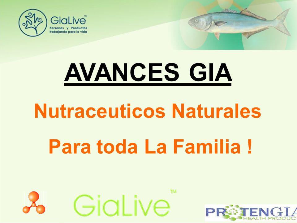 AVANCES GIA Nutraceuticos Naturales Para toda La Familia !