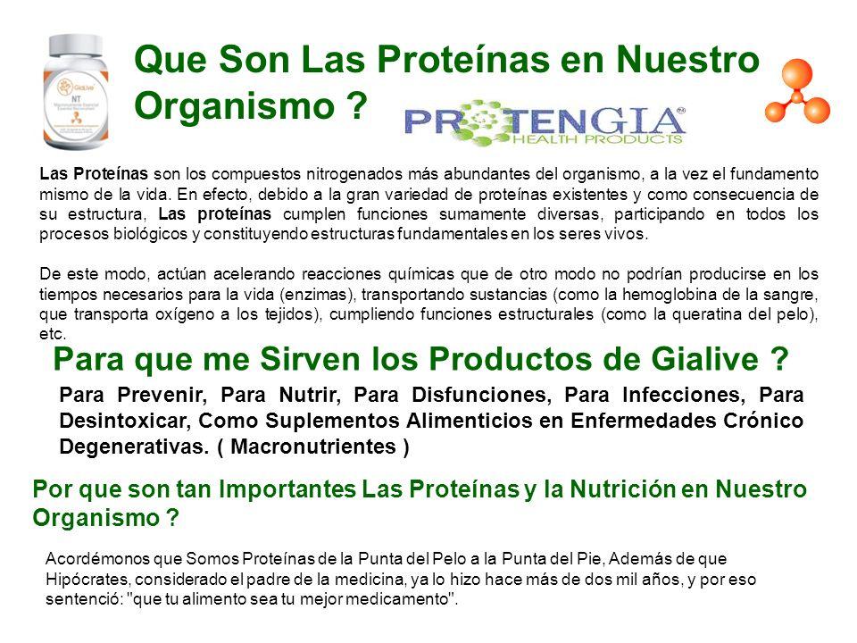 Que Son Las Proteínas en Nuestro Organismo ? Las Proteínas son los compuestos nitrogenados más abundantes del organismo, a la vez el fundamento mismo