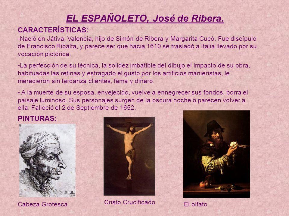 EL ESPAÑOLETO, José de Ribera.