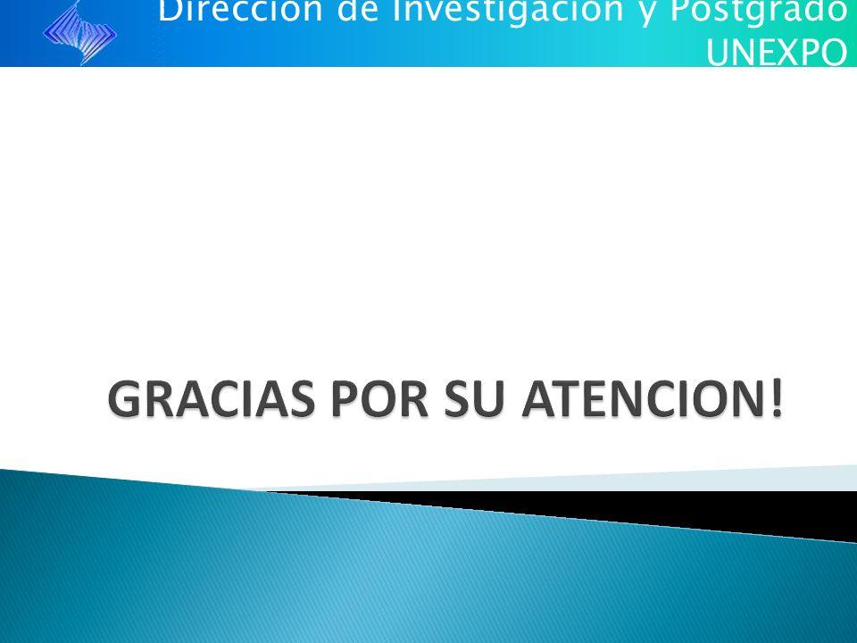 Dirección de Investigación y Postgrado UNEXPO