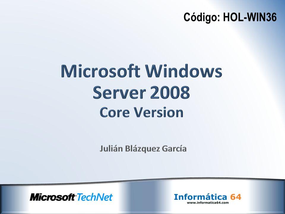 Código: HOL-WIN36