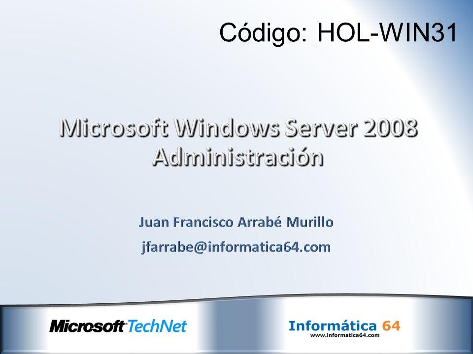 El proceso de instalación de Windows Server 2008 es similar al de Windows Vista: Modo de instalación gráfico mediante Windows PE 2.0 Posibilidad de hacer uso de las herramientas de WinRE para recuperar un sistema de ante errores de arranque o de otra índole.