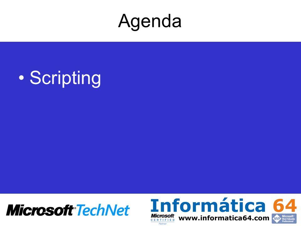 Agenda Scripting