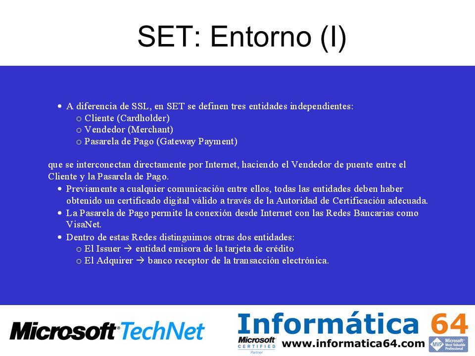 SET: Entorno (I)