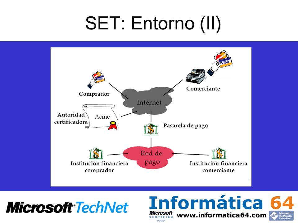 SET: Entorno (II)