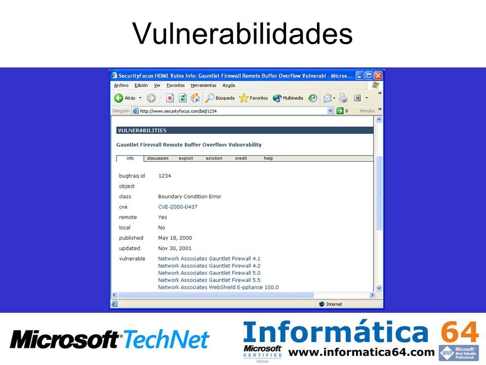 Vulnerabilidades