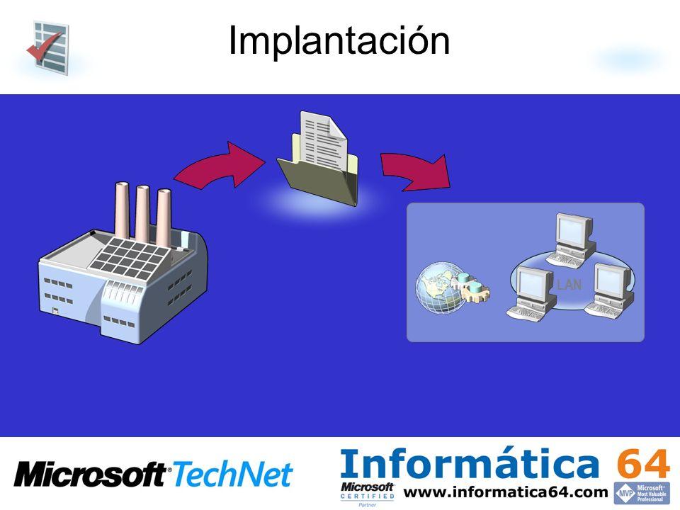 Implantación LAN