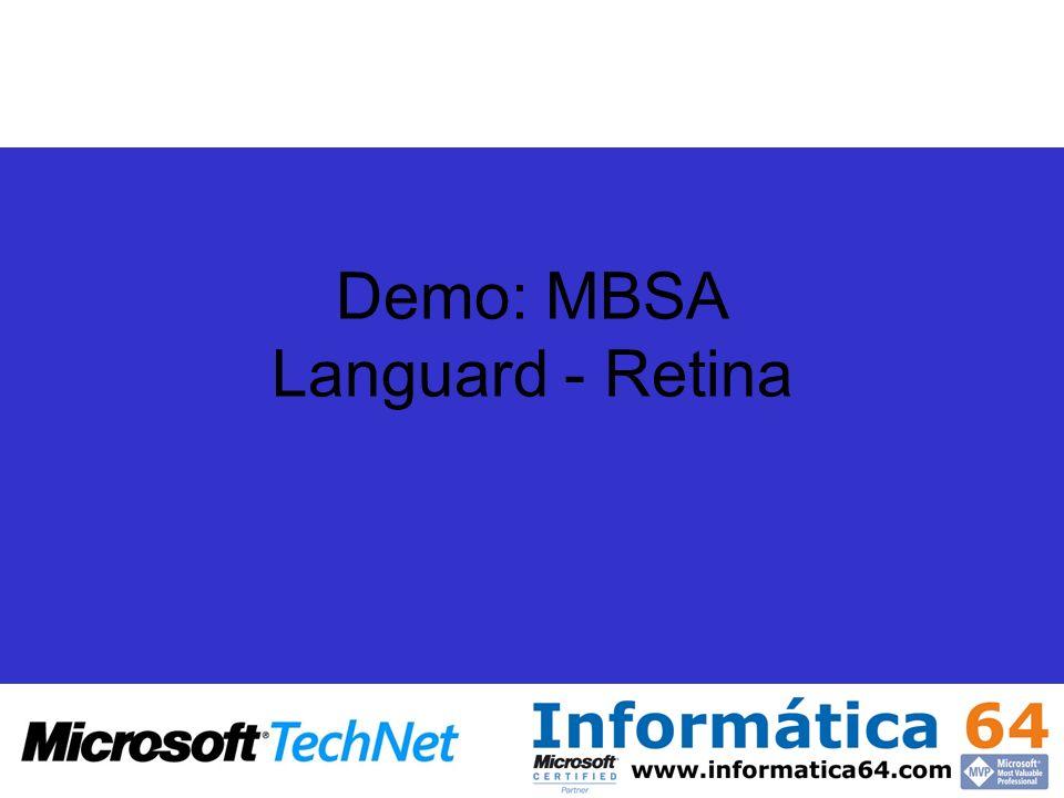 Demo: MBSA Languard - Retina