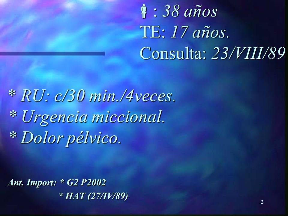 1 CI CISTITIS INTERSTICIAL Luis Zegarra Montes. Dr. Mg. Med.-UPCH Jefe del Servicio de Urología-HNCH. Prof. Principal Dpto. Cirugía-UPCH.. CI CISTITIS