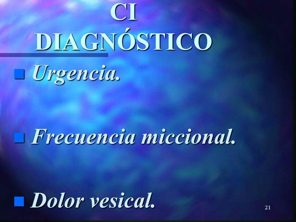 20CI n Rol del potasio urinario.n Parsons CL.