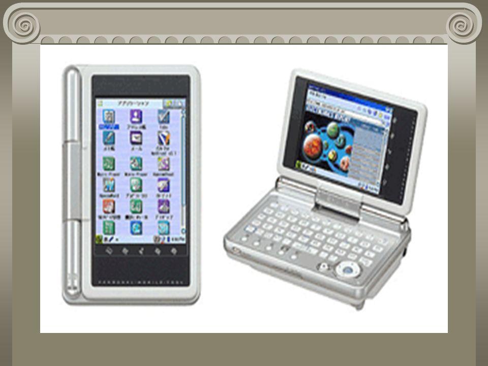 Palmtop Son computadoras prácticamente de bolsillo, las hay puras y también con teléfonos celulares.