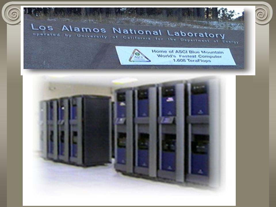 Por su capacidad y Potencia Supercomputadoras (mainframe) Son computadoras de gran procesamiento de datos en un tiempo record. Son utilizados por orga