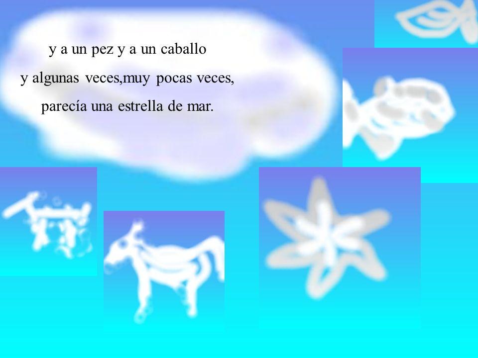 ¡Bien!-Gritaron todas las nubes-¡Bien.Y Blancaluz le dijo a Alasdealgodón: y ahora...¡A Canarias.