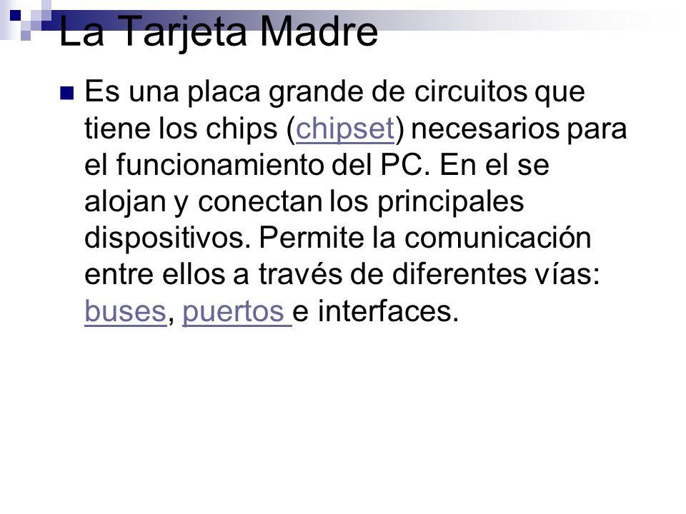 Los Puertos Permite conectar a dispositivos externos por medio de cables.