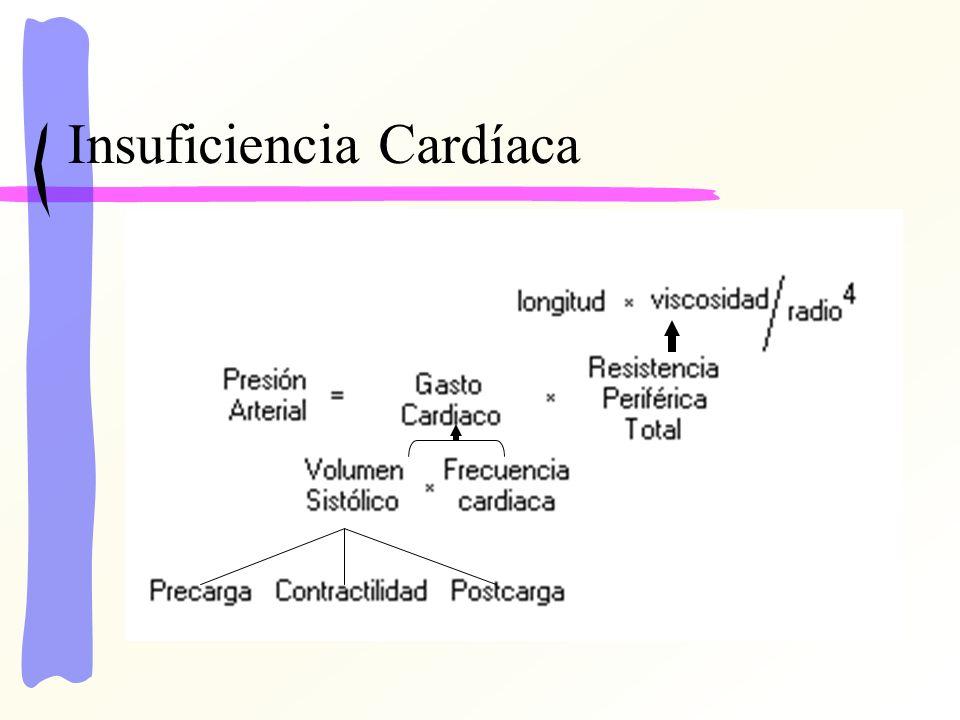 Gasto Cardíaco: cantidad de sangre bombeada por el corazón hacia la aorta cada minuto, responsable de transportar sustancias a los tejidos y desde ellos.