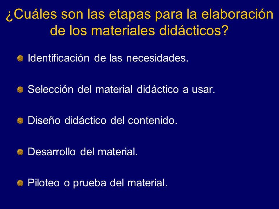 ¿Qué es la evaluación del material didáctico.