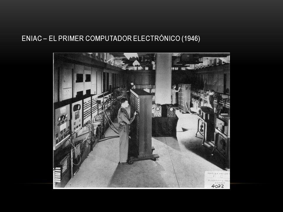 FRECUENCIA P6 Pentium ® proc 486 386 286 8086 8085 8080 8008 4004 0.1 1 10 100 1000 10000 19701980199020002010 Frecuencia (Mhz) La frecuencia en microprocesadores se duplica cada 2 años Se duplica cada 2 años Fuente: Intel