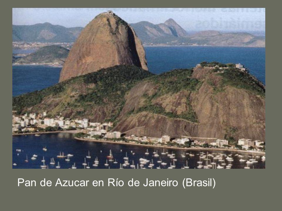 Pan de Azucar en Río de Janeiro (Brasil)