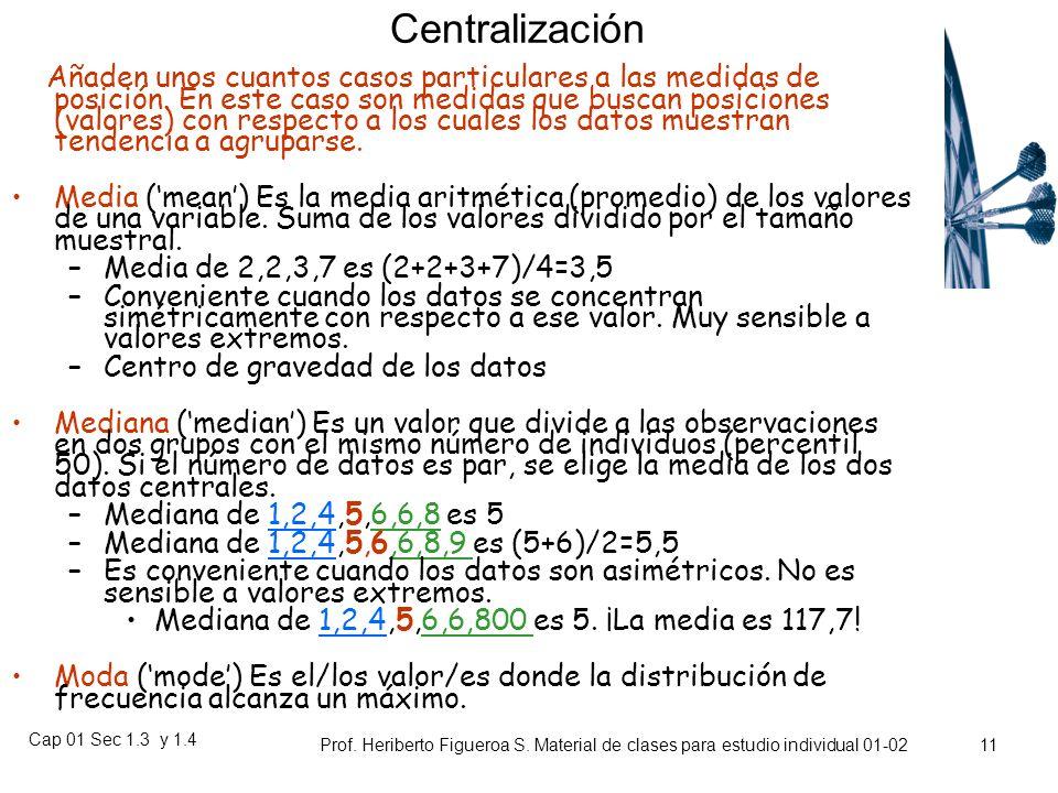 Cap 01 Sec 1.3 y 1.4 Prof. Heriberto Figueroa S. Material de clases para estudio individual 01-02 10 Ejemplo 20%? 90%?