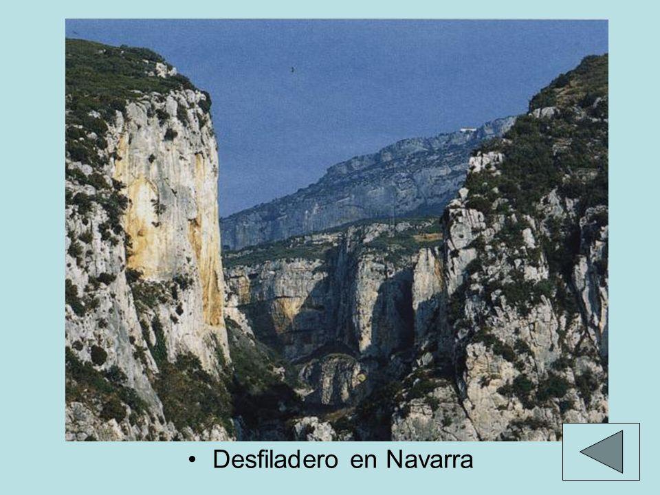 Desfiladero en Navarra