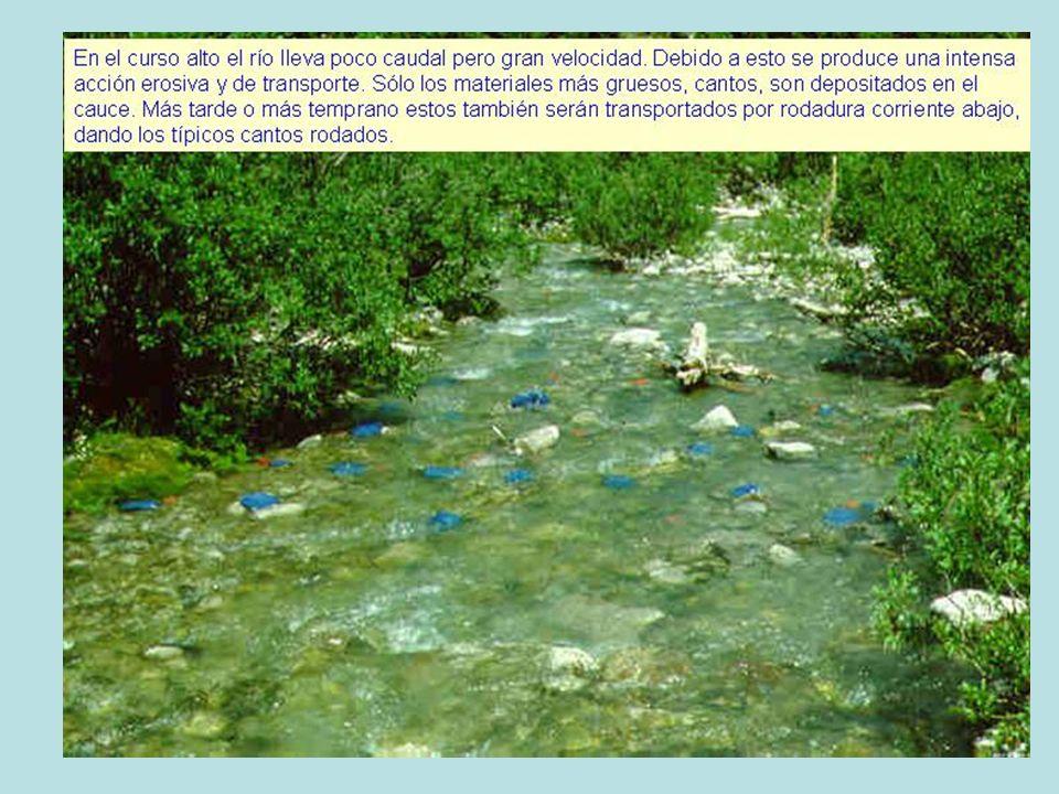 Curso alto de un río en Huesca