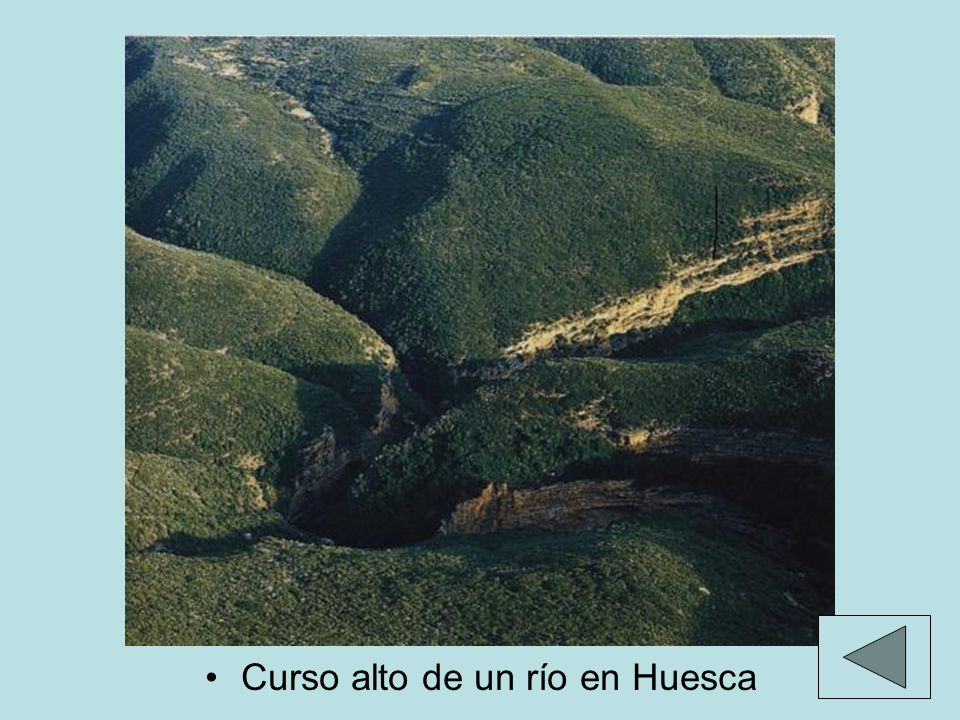FORMAS DE DEPÓSITO Llanuras aluviales: areas de poca pendiente donde el río deposita sus materiales, con el paso del tiempo son erosionadas por el propio río dando lugar a terrazas fluviales.Llanuras aluviales Estuarios: desembocaduras en forma de embudo.Estuarios: