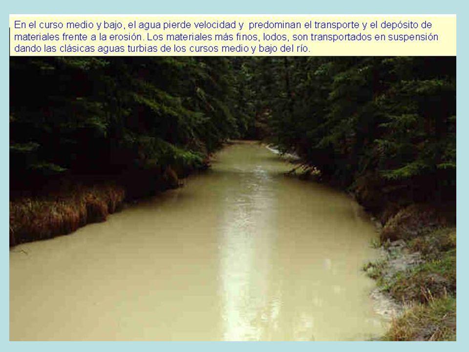 Cascadas: Afluente del Lozoya en el Valle del Paular (Madrid) Saltos de agua: Grados de Soaso en el Valle de Ordesa (Huesca)