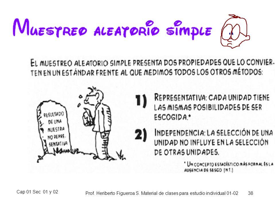 Cap 01 Sec 01 y 02 Prof. Heriberto Figueroa S. Material de clases para estudio individual 01-02 38