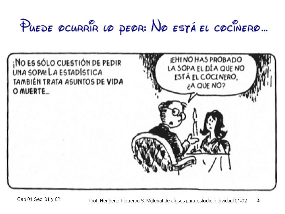 Cap 01 Sec 01 y 02 Prof. Heriberto Figueroa S. Material de clases para estudio individual 01-02 4