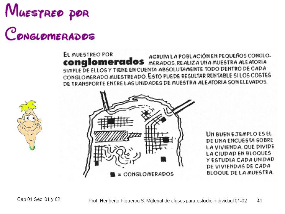 Cap 01 Sec 01 y 02 Prof. Heriberto Figueroa S. Material de clases para estudio individual 01-02 41
