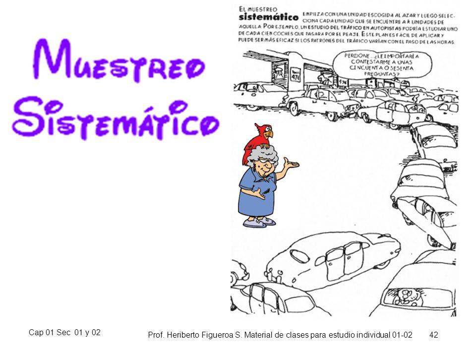 Cap 01 Sec 01 y 02 Prof. Heriberto Figueroa S. Material de clases para estudio individual 01-02 42