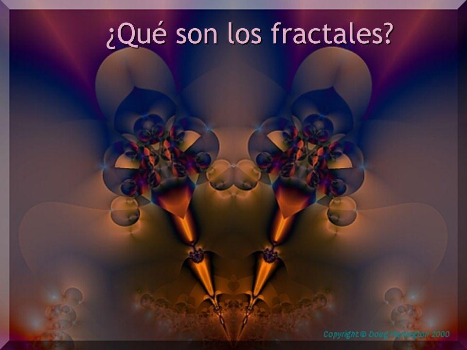 ¿Qué son los fractales?