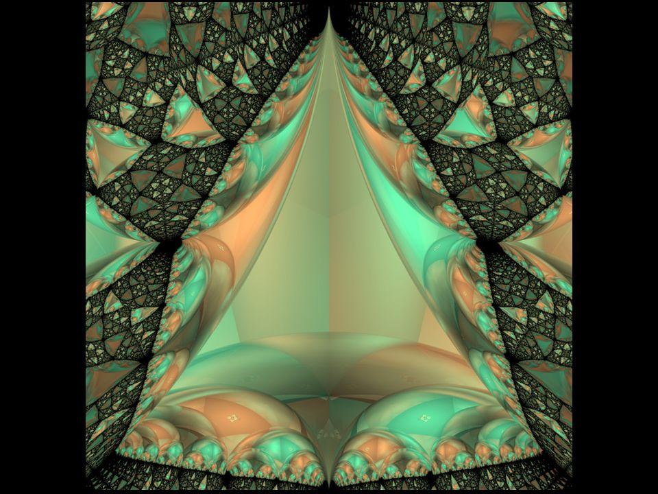 Los fractales son formas geométricas que se caracterizan por repetir un determinado patrón, con ligeras y constantes variaciones.
