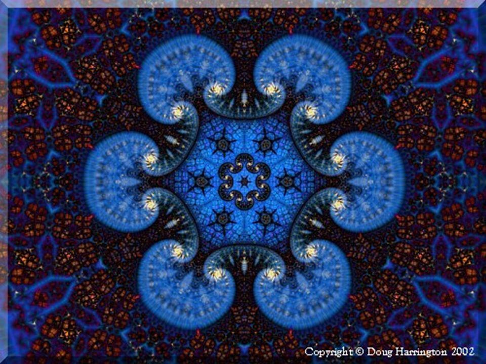 Cuando los fractales son vistos a través de una lente de aumento, es posible percibir la similitud entre sus diferentes partes, en sus diferentes esca