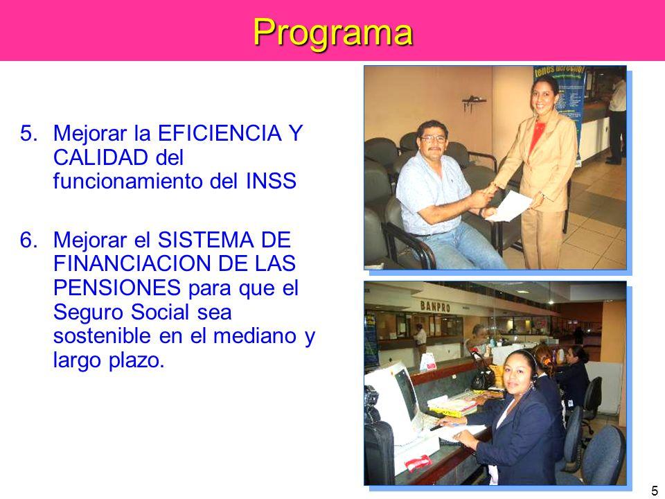 36 El INSS está financieramente sólido El INSS se está manejando correctamente de acuerdo a lo establecido en la Ley de la Seguridad Social El INSS se está cumpliendo, sin duda alguna, con sus funciones para garantizar la justicia social y la solidaridad.