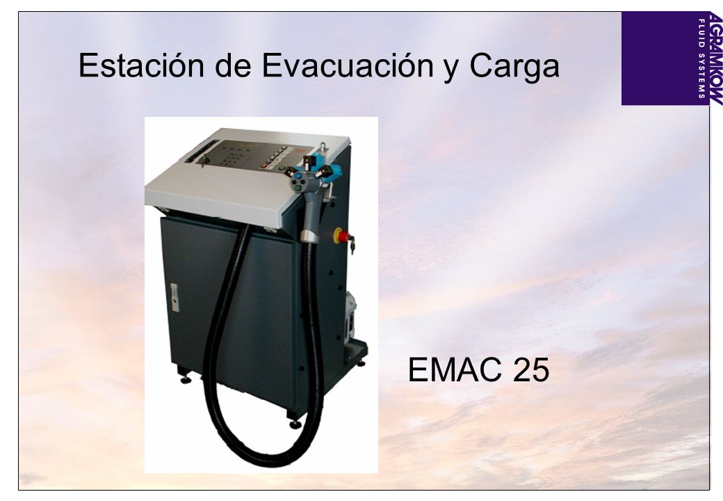 Estación de Evacuación y Carga EMAC 25