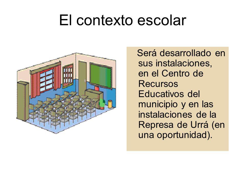 Población beneficiada Este proyecto está dirigido a los estudiantes de 10° y 11° grado de la institución educativa Benicio Agudelo.