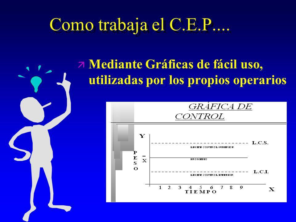 Como trabaja el C.E.P.... ä ä El C.E.P.