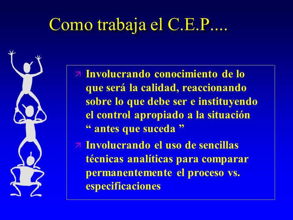 Como trabaja el C.E.P....