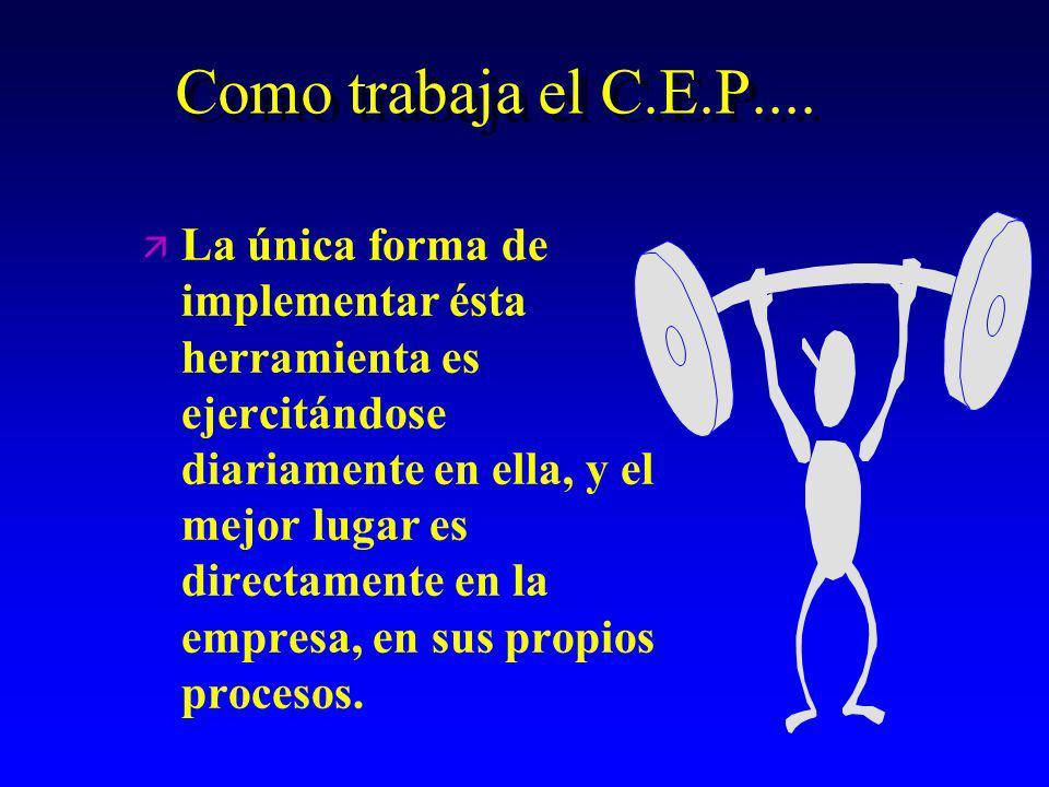 ¿ Qué es el C.E.P. ¿ Qué es el C.E.P.