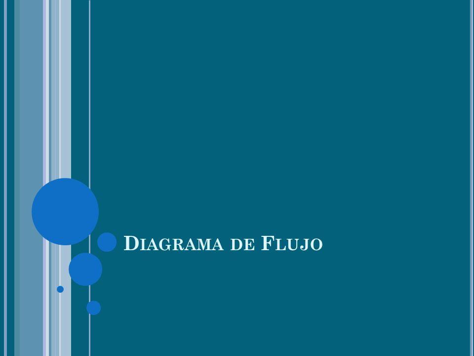 D IAGRAMA DE F LUJO