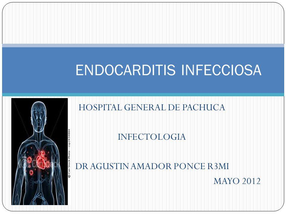 Definición: Inflamación del endocardio, la cuerdas tendinosas o las válvulas cardiacas 1855 Sir William Osler (simple o maligna) Acute Infective Endocarditis, Infect Dis Clin N Am 23 (2009)