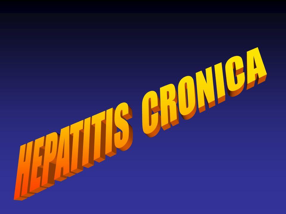HEPATITIS B Y C CRONICA PACIENTES EN RIESGO Hepatitis B Personas con síntomas de hepatitis.