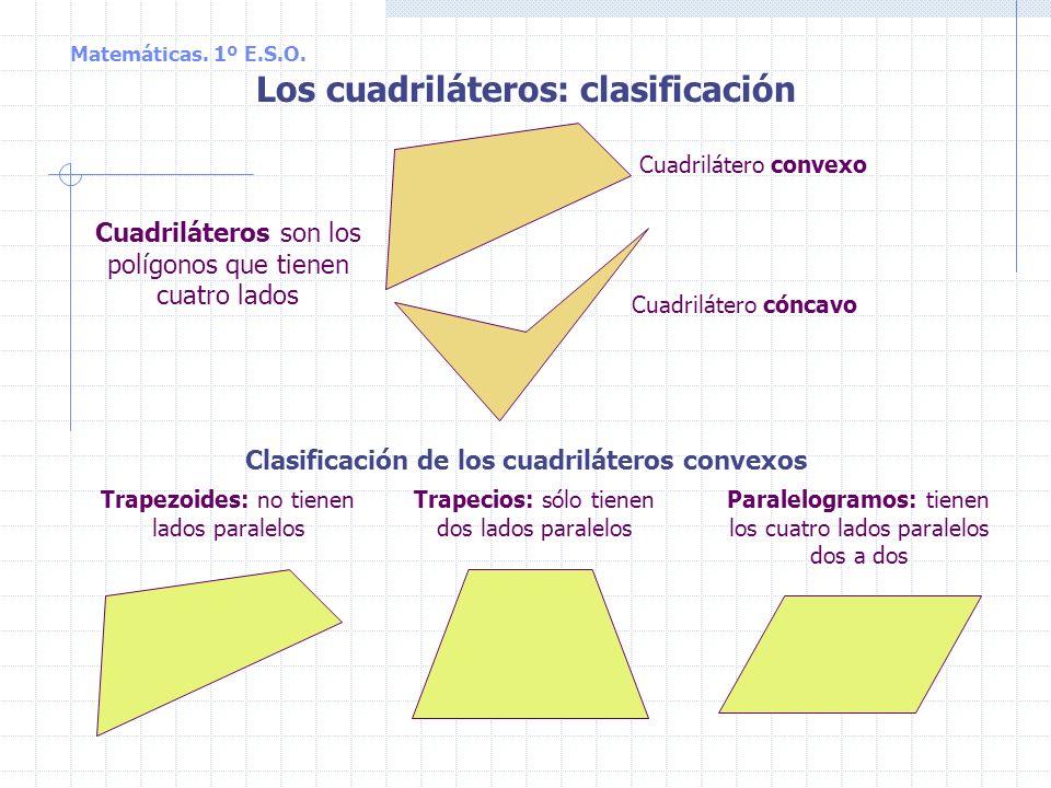 Matemáticas. 1º E.S.O. b 2 64 cuadraditos Teorema de Pitágoras (continuación) Matemáticas. 1º E.S.O. a 2 100 cuadraditos b 2 64 cuadraditos c 2 36 cua