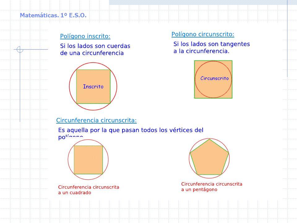 Matemáticas. 1º E.S.O.