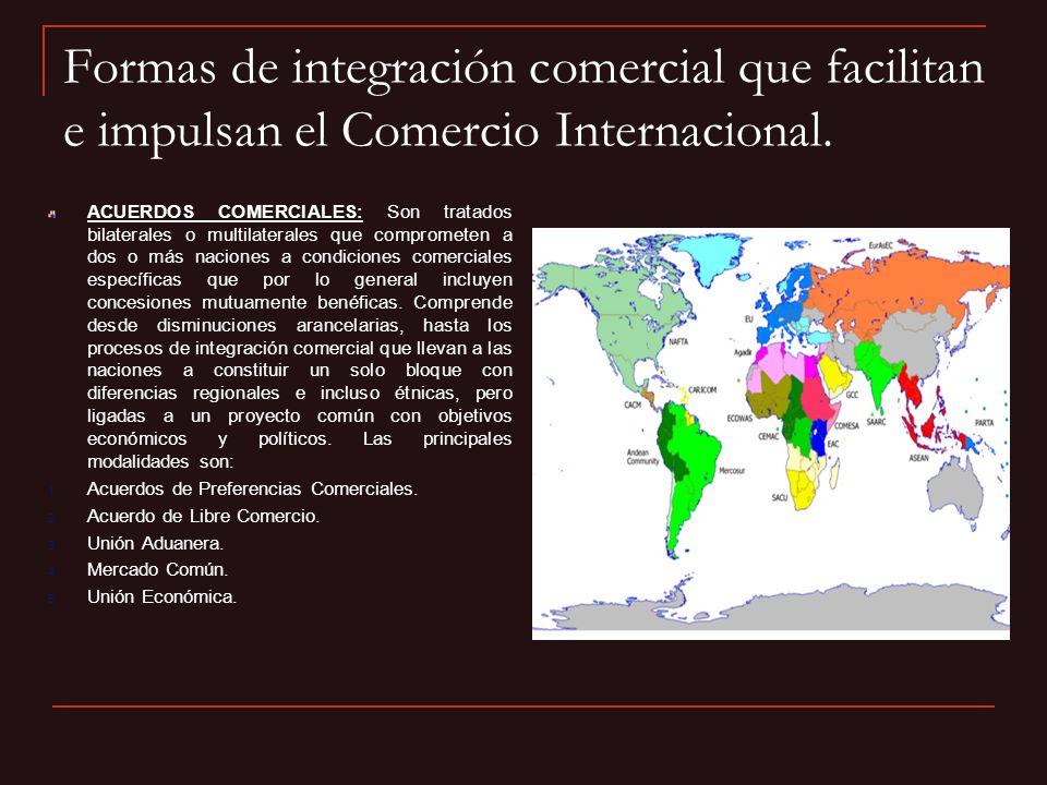 Acuerdos y Tratados Comerciales de México.Principales Acuerdos de Complementación Económica (ACE).