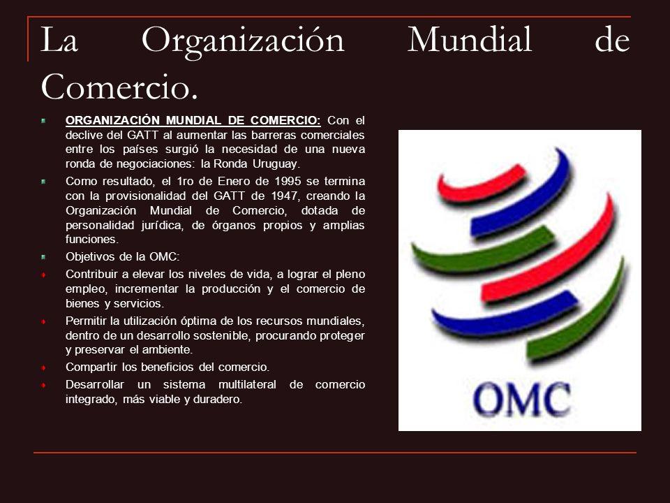 Los objetivos y principios del TLCAN.OBJETIVOSPRINCIPIOS 1.