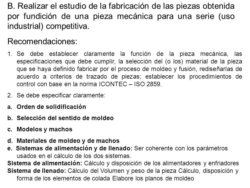 MICROESTRUCTURA DE LAS PIEZAS COLADAS 1.Zona de enfriamiento rápido 2.